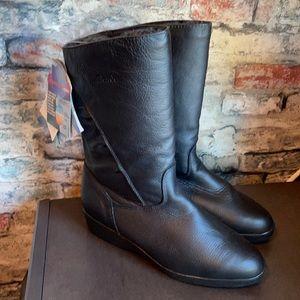 Blondo Black Waterproof Pull On Winter Boots Sz 7.5